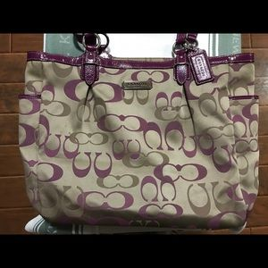 Coach shoulder bag/ tote